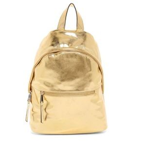 Jace French connection gold backpack